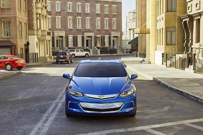 Новый Chevrolet Volt 2015-2016