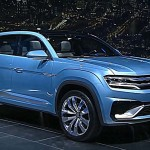 Концепт Volkswagen Cross Coupe GTE 2016 – предсерийная версия