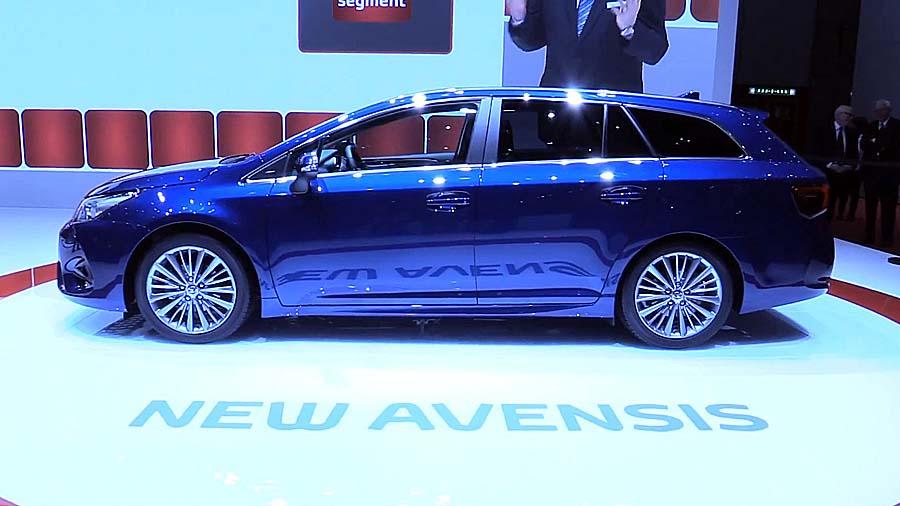 Новый Тойота Авенсис 2016