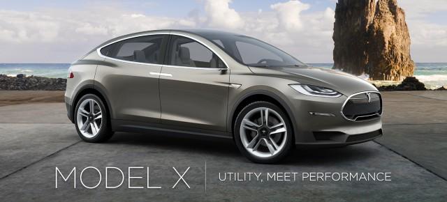 Тесла Модель Х 2016 года