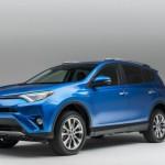 Долгожданное обновление японского Toyota RAV4 2016-2017