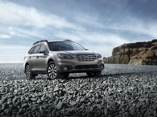 Снимок доработанного Subaru Outback 2016