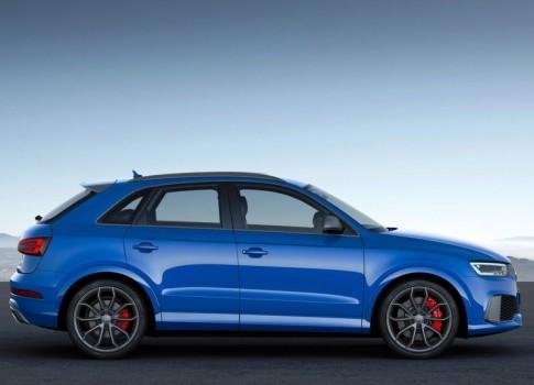 Боковая часть Audi Q3 RS Performance 2016-2017
