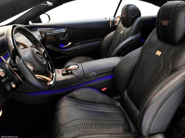 Фото передних сидений Брабус 850 Битурбо 2016-2017