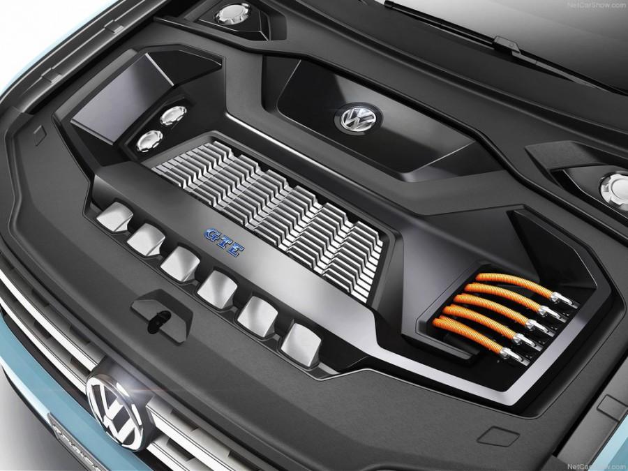 Volkswagen Cross Coupe GTE – ожидаемая новинка 2016–2017