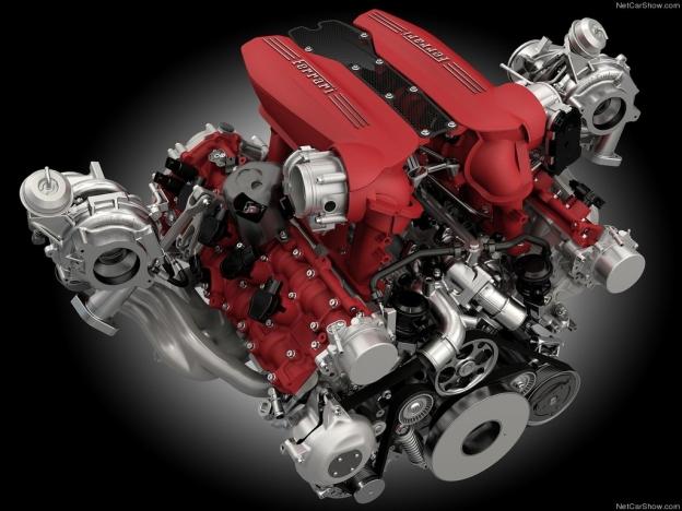 Новая силовая установка Феррари 488 ГТБ 2016-2017