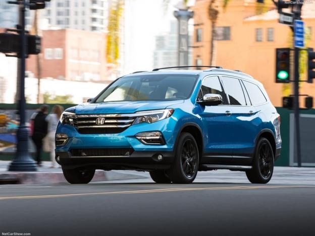 Новая Honda Pilot 2016-2017: фото цена и комплектация, видео тест-драйв