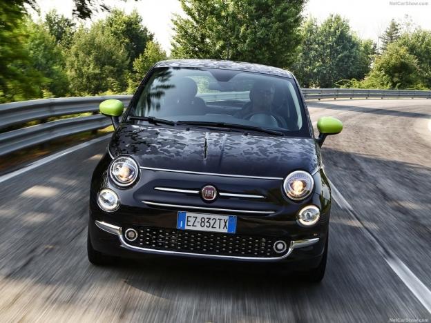 Фотография нового Fiat 500 2016-2017 года