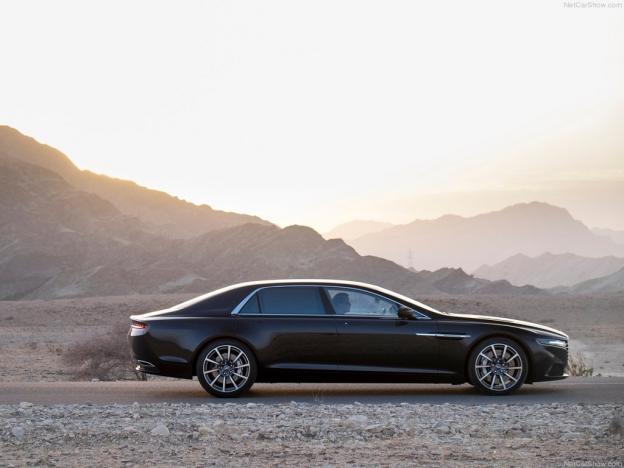 Aston Martin Lagonda 2016-2017 сбоку