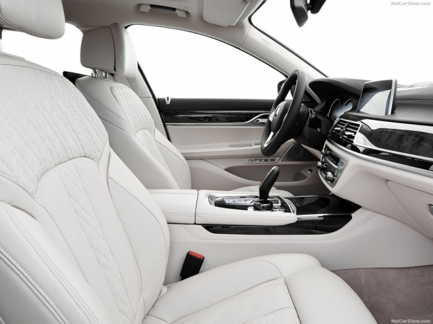 Передние кресла BMW 7