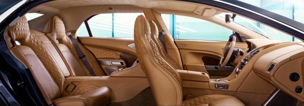 Фото салона Aston Martin Lagonda