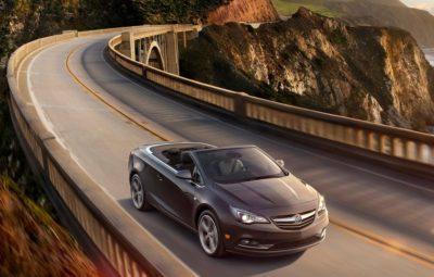 Buick Cascada 2015-2016: первый в США кабриолет известного бренда
