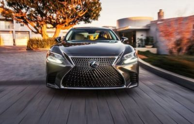Роскошь и качество. Седан Lexus LS 500 2017-2018