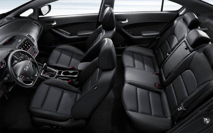 Рестайлинговая модель Kia Cerato 2017-2018 уже начала продаваться