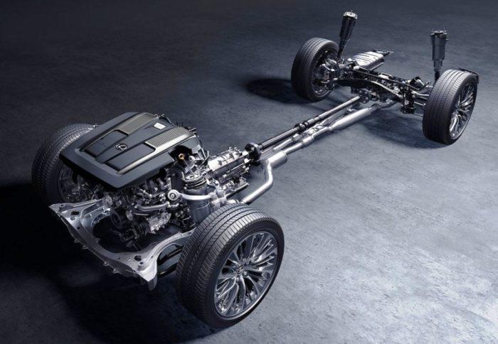 Роскошь и качество. Седан Lexus LS 500 2017-2018 в новом кузове