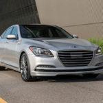 Седан Hyundai Genesis G80 2017-2018 пережил свое обновление