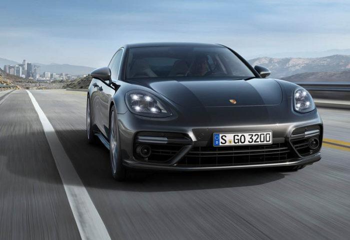 В Германии уже показали Porsche Panamera 2 2017-2018