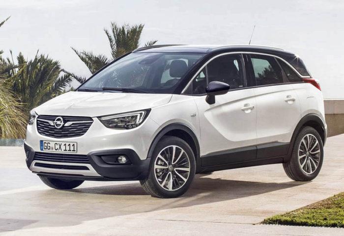 Выпущен небольшой кроссовер Opel Crossland X 2017-2018