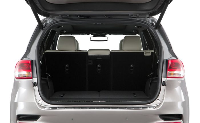 Фото багажника Киа Соренто 2017