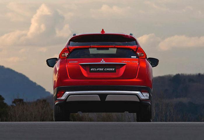 Mitsubishi Eclipse Cross 2017- 2018 — новинка от японской компании