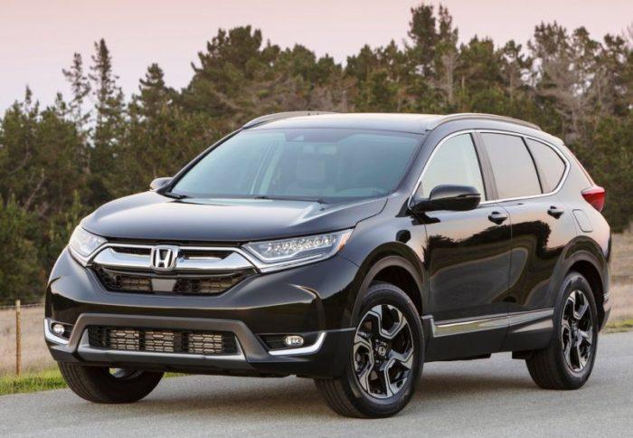 Очередное поколение Honda CR-V 2017-2018 скоро появится в России