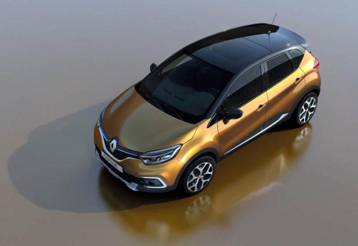 Относительно свежая модель Renault Captur 2017-2018 пережила рестайлинг