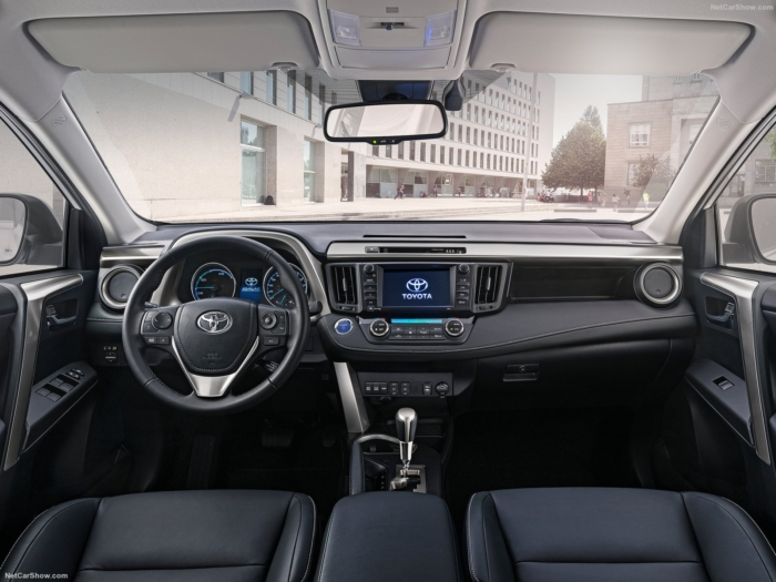Фото салона Тойота РАВ 4 2017 в новом кузове: комплектации, цены и фото