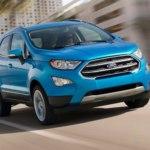 Форд Экоспорт 2017 в новом кузове — комплектации, цены и фото
