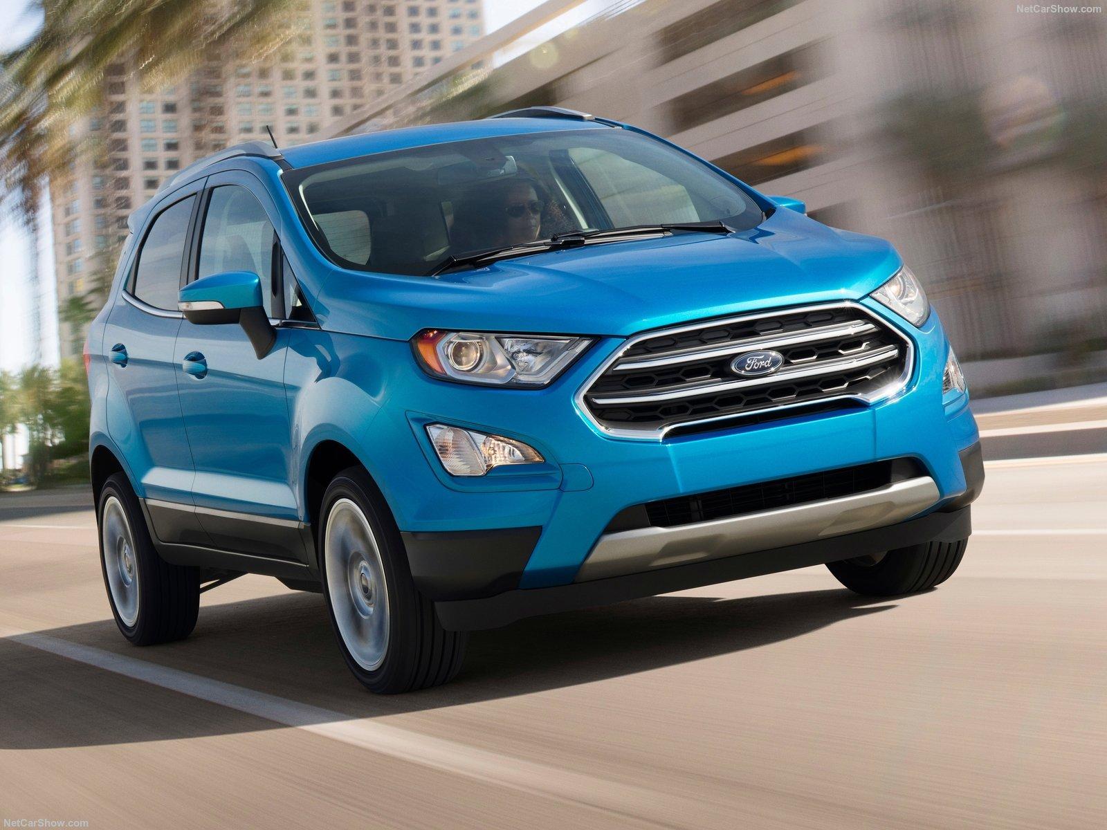 Форд экоспорт 2018 новый кузов комплектации и цены фото спб