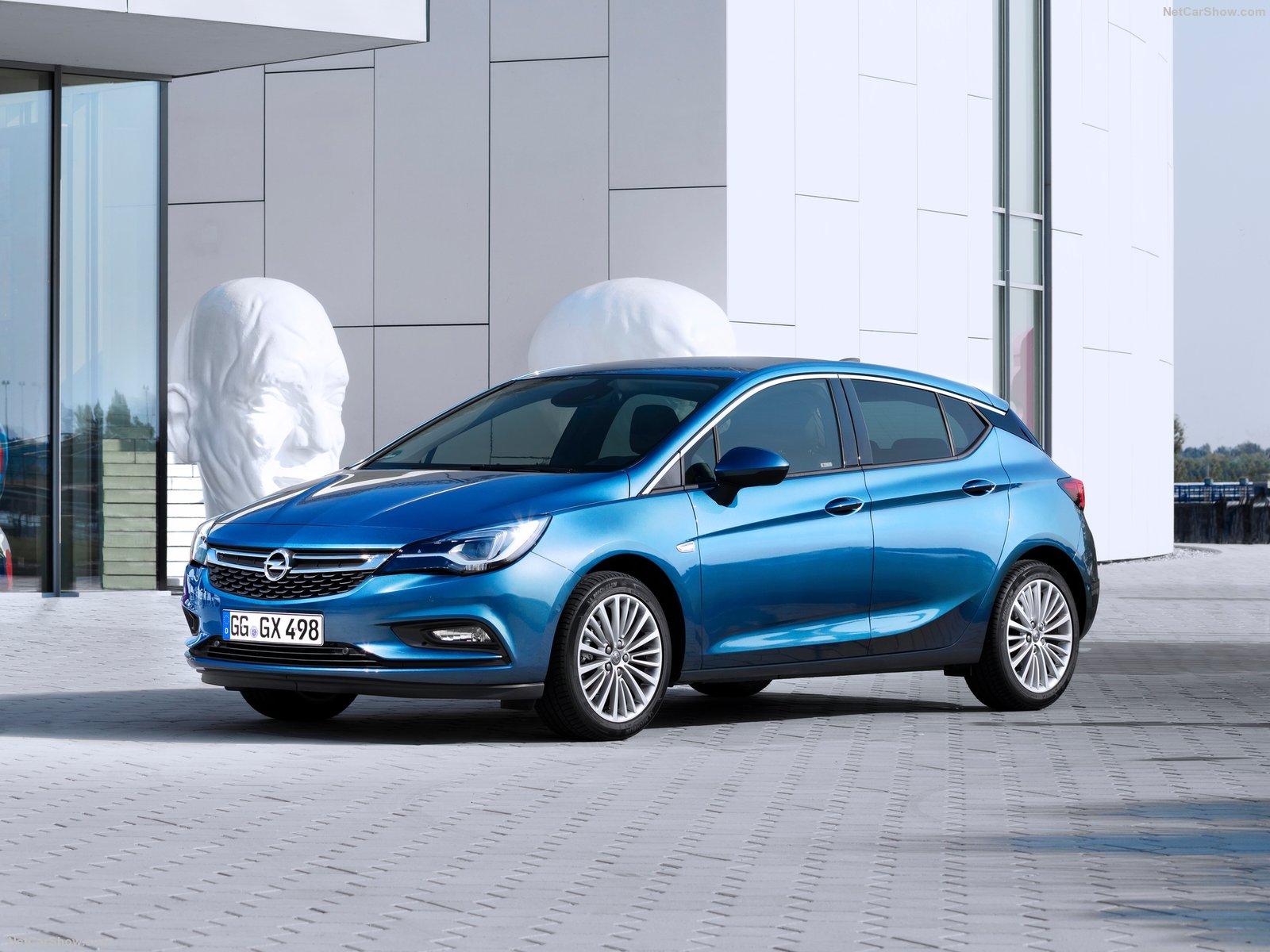 Опель Астра 2017 новый кузов, фото, цены, комплектации