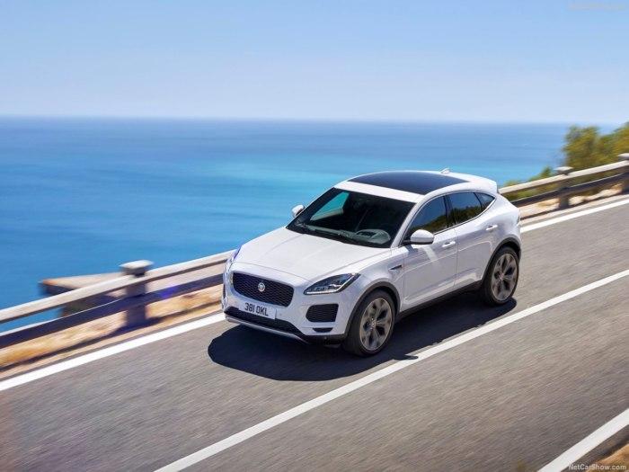 Jaguar E-pace 2018 года - комплектации, цены, фото и видео