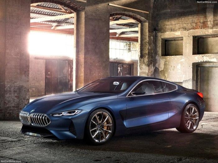 BMW 8 Series 2017 года - фото, характеристики, комплектации и тест-драйв