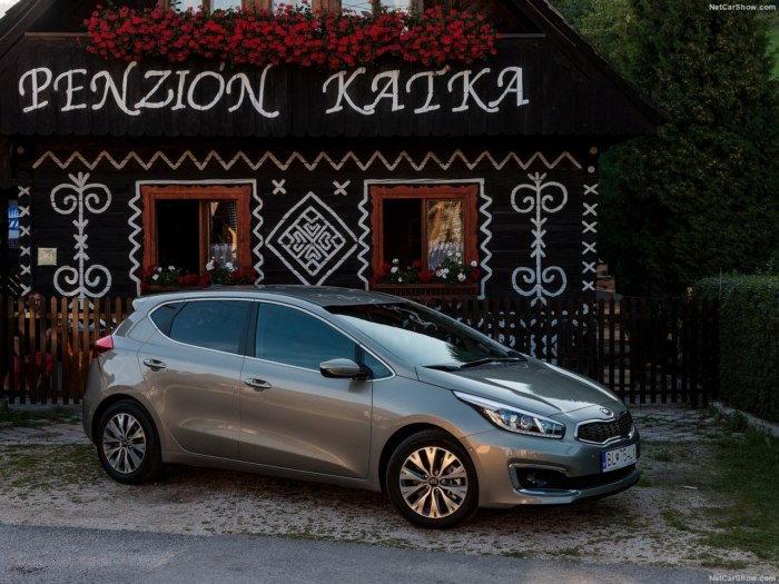 Kia Ceed 2018 модельного года: цены, комплектации, фото и характеристики