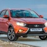 АвтоВАЗ готовится к дебюту седана-внедорожника Lada Vesta SE Cross