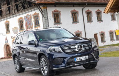 Mercedes-Benz GLS 2018 - комплектации, цены и фото