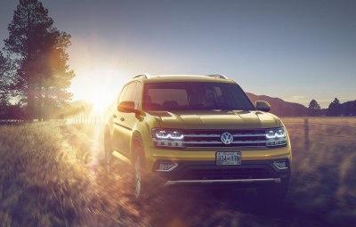 Фольксваген Атлас 2017 модельного года: цены, комплектации, фото и характеристики