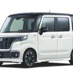 Обновленная Suzuki Spacia 2018 в традиционном кузове