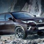 Обнародовано характеристики и стоимость Toyota Fortuner на российском авторынке