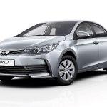 «Внешность» нового поколения Toyota Corolla была показана на фото