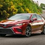 Обновленная Toyota Camry прошла сертификацию в России